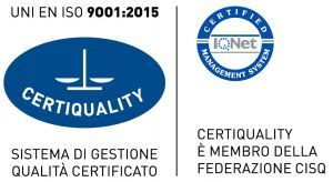 Certiquality UNI EN ISO 9001:2015 e IQ Net certified management system